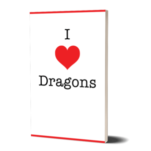 I Love Dragons Notebook