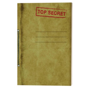 Top Secret scribblings, sketches and other cool stuff Drawing Book